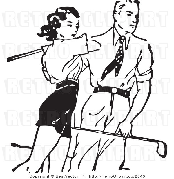 Man Playing Golf Clipart (52+).