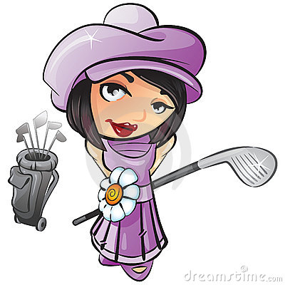 Free golf clipart graphics. Golf player, man, woman, bunny, ball.