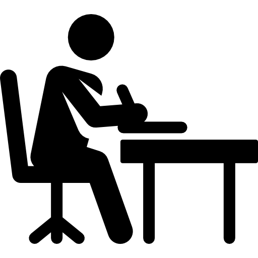 Writing Computer Icons Stick figure Clip art.