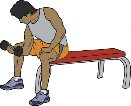 Free Fitness Man Cliparts, Download Free Clip Art, Free Clip.