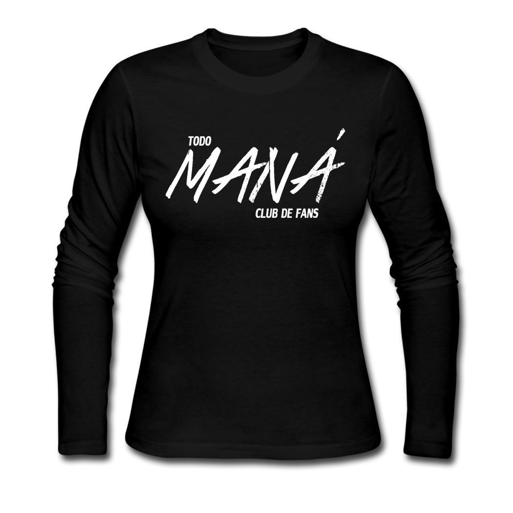 Amazon.com: LLY dope women\'s Mana logo Long Sleeve T.