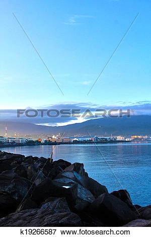 Picture of Morning City Light Manado from The k19266587.