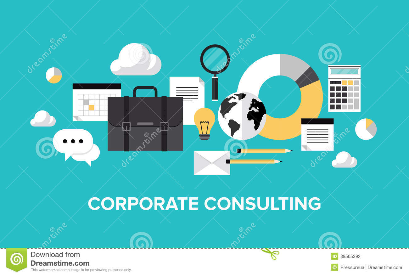 Consulting Stock Illustrations.