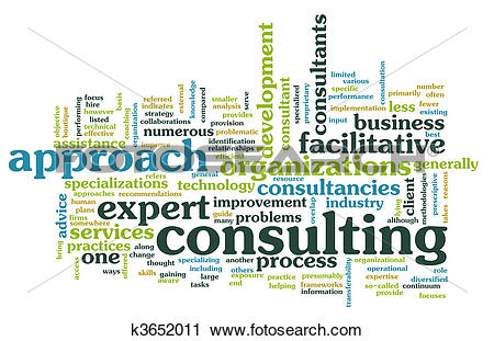 Clipart of Management Consulting k3652011.