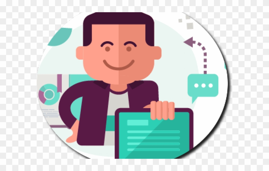 Networking Clipart Relationship Manager.