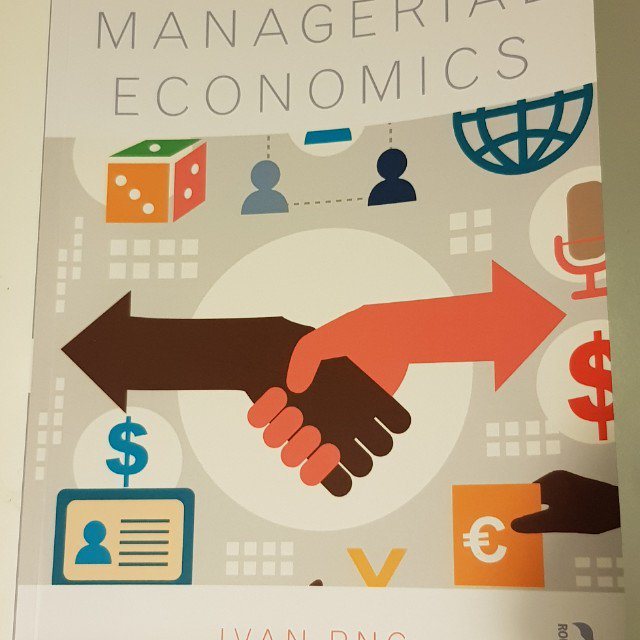 Managerial economics ivan 5th edition download free clipart.