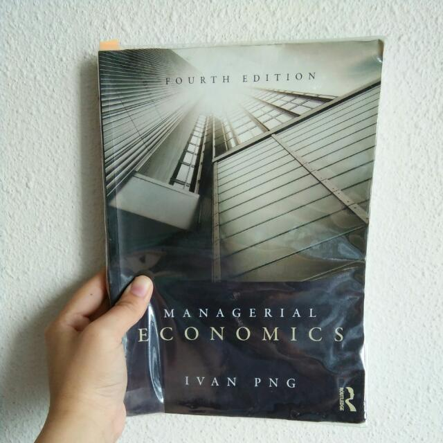 Managerial Economics 4th Edition.