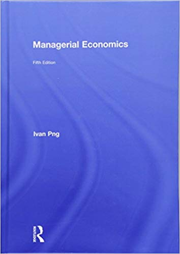 Managerial Economics, 5th Edition: Ivan Png: 9781138810259.