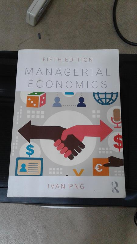 Managerial Economic Fifth Edition 第五版 Ivan Png.