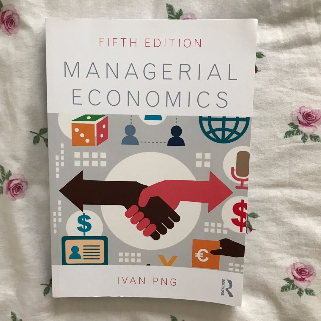 Fifth Edition Managerial Economics.
