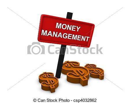 Managing Money Clipart.