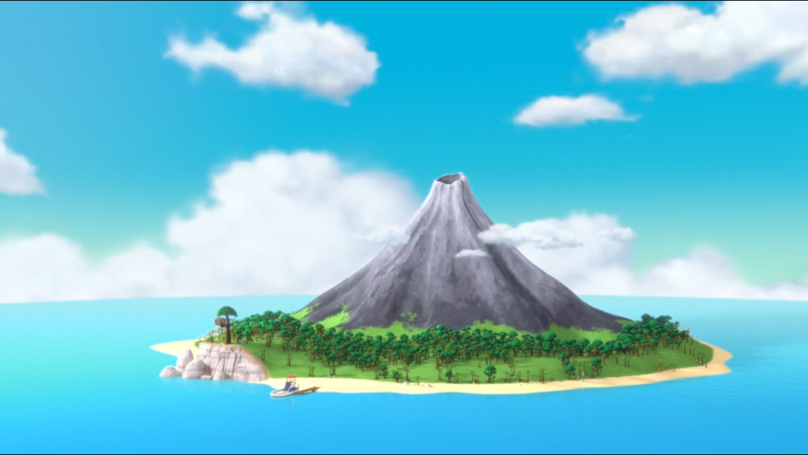 Volcano Island Png & Free Volcano Island.png Transparent.