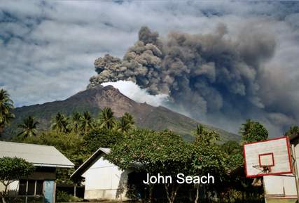 Manam Volcano, Papua New Guinea.