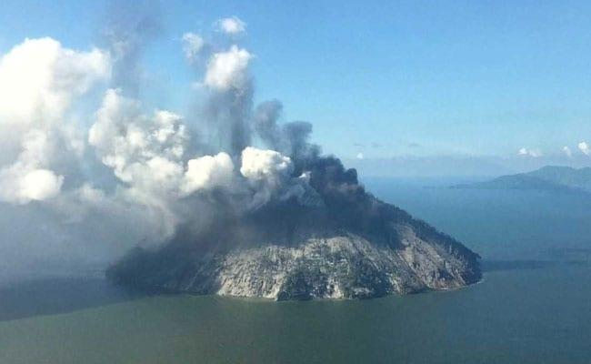 Volcano Erupts On Remote Papua New Guinea Island.