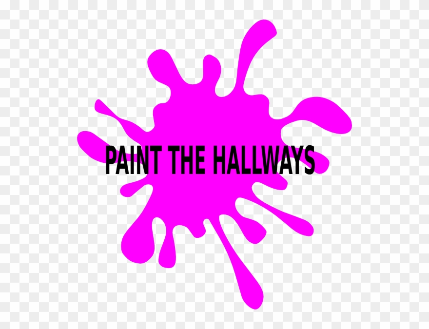 Paint The Hallways Clip Art At Clker.