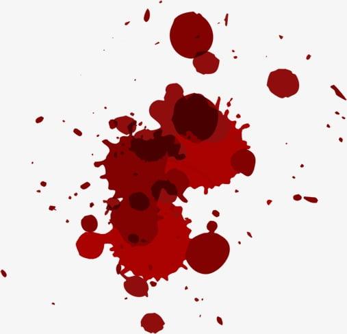 Mancha de sangre PNG Clipart.