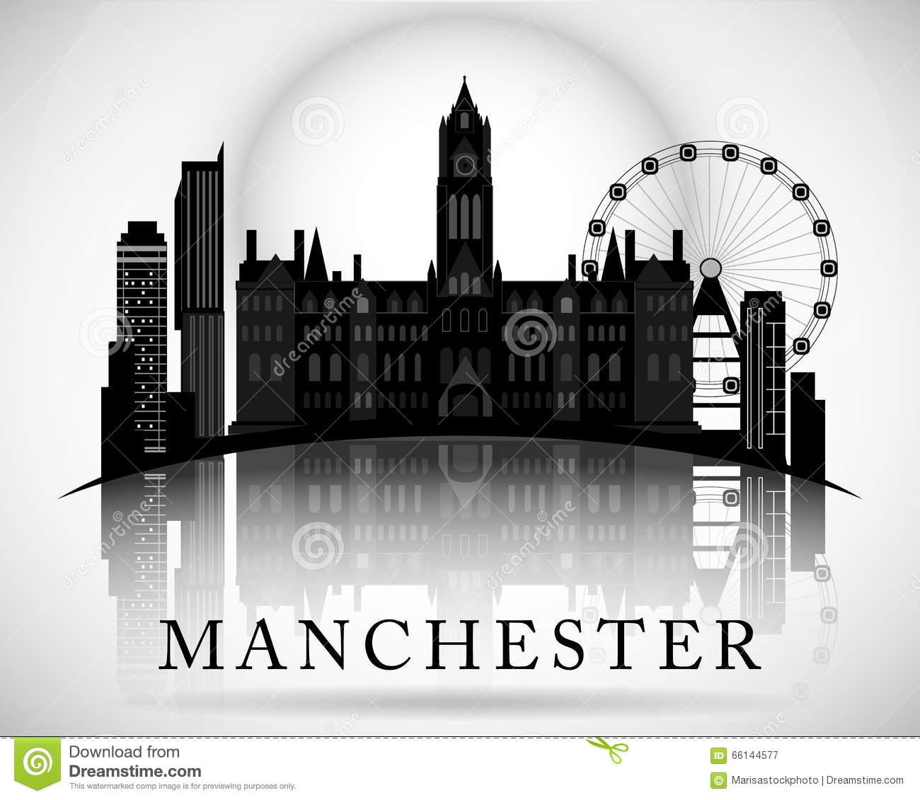 Manchester Stock Illustrations.