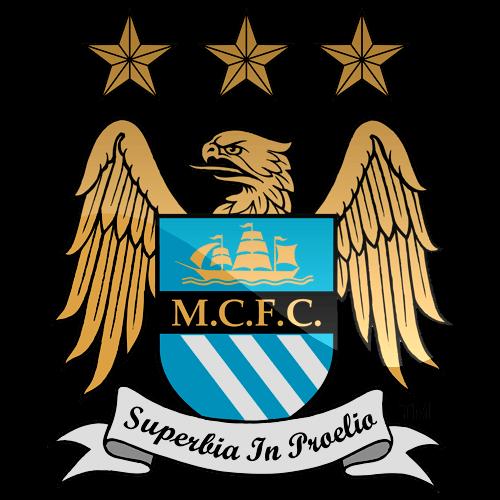Manchester City Logo transparent PNG.