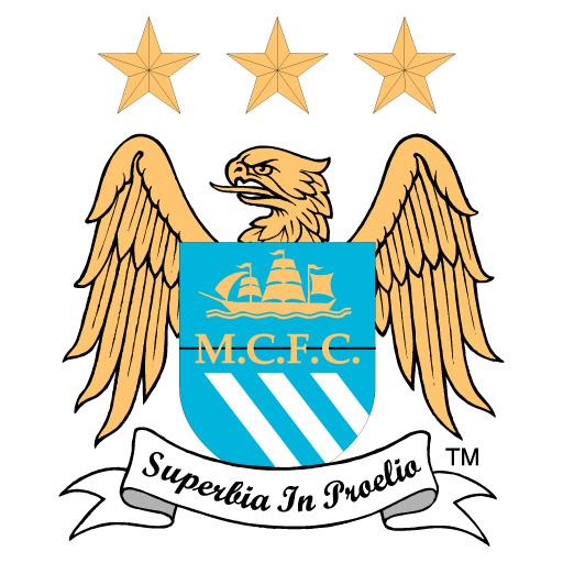 Manchester City FC logo vector.