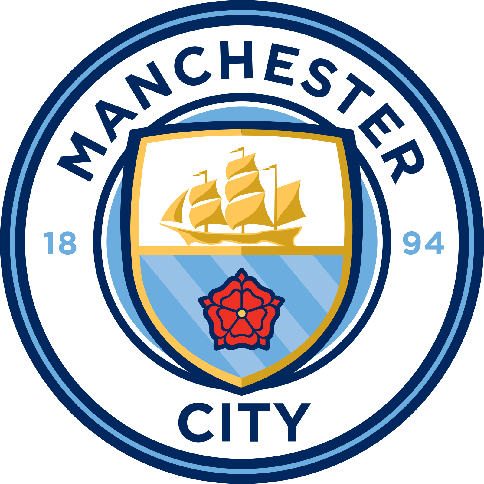 Manchester City FC Logo.