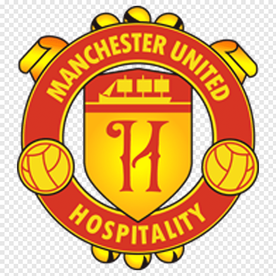 Manchester United Logo, Manchester United Fc, Yellow, Paper.