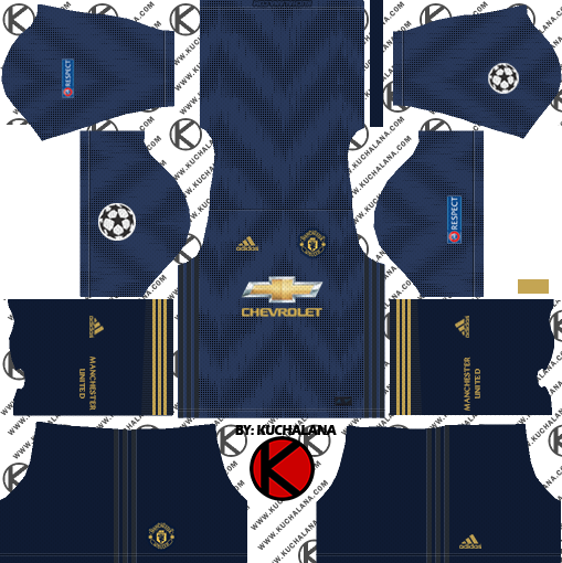 Manchester United 2018/19 Kit.