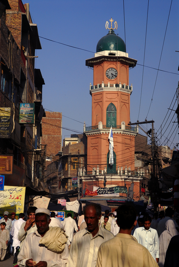 Cunningham Clocktower, Pakistan 2019.
