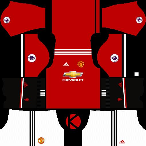 Manchester United Kits 2017/2018.