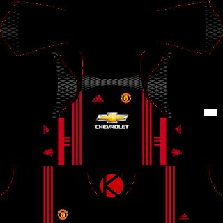 Manchester United Kits 2016/2017.