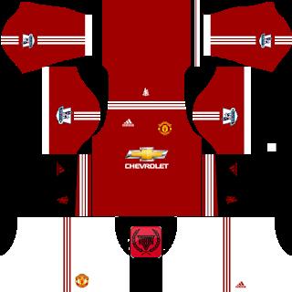 Manchester United Kits 2015/2016.