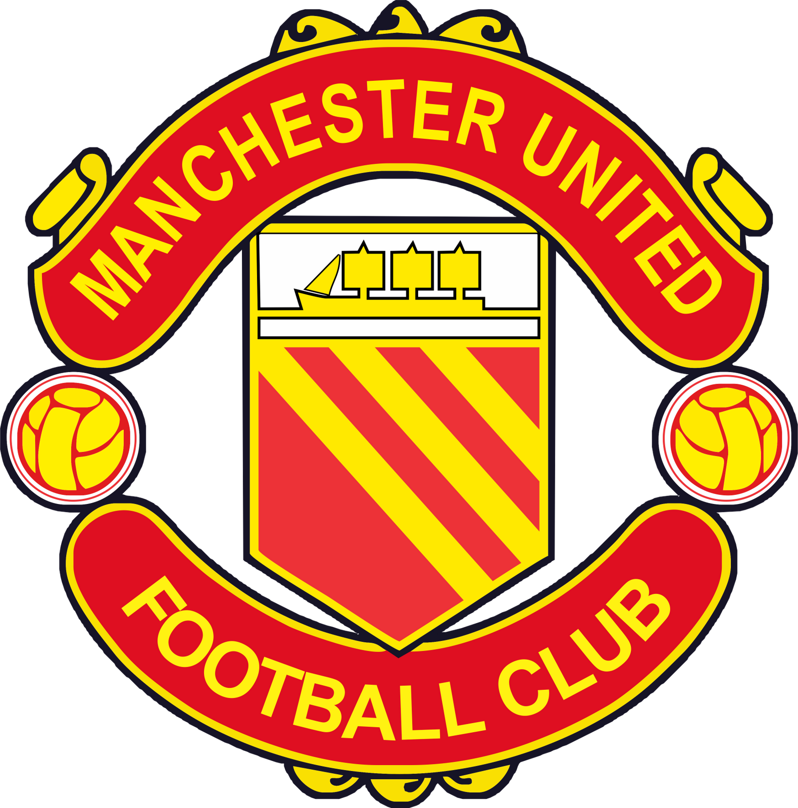 Manchester United logo PNG images free download.