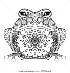 Mandala Animals Clipart.