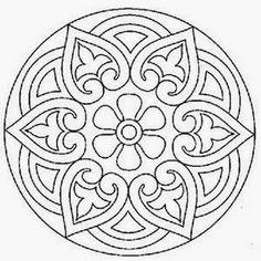 Mandalas+Para+Pintar:+mandalas+para+imprimir Mandala Art.