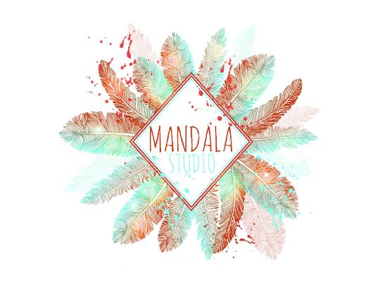 Mandala Logo Design, Premade Logo.
