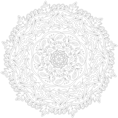Mandala PNG.