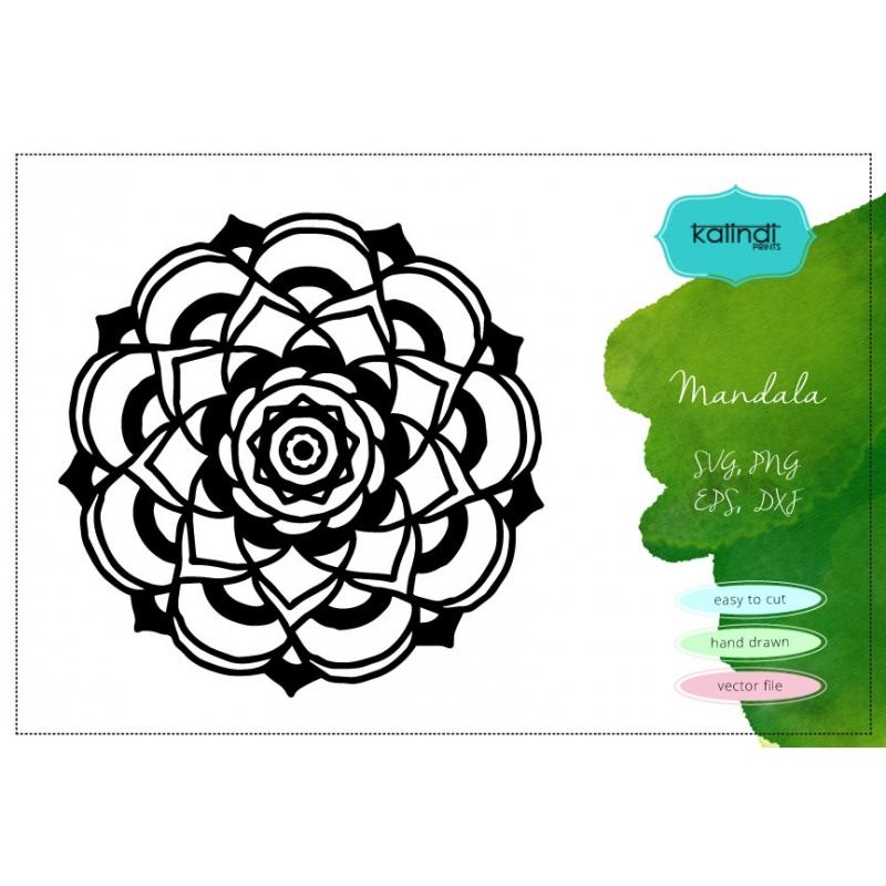 Mandala svg. Mandala vector clipart. Mandala stencil. Mandala silhouette.  Mandala high resolution png..