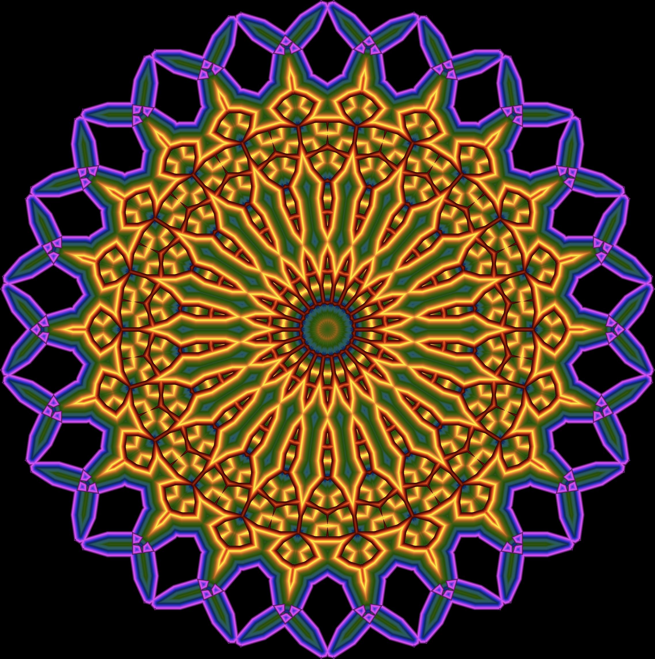 Mandala Clip Art.