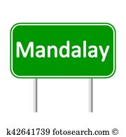 Mandalay Clip Art Illustrations. 8 mandalay clipart EPS vector.