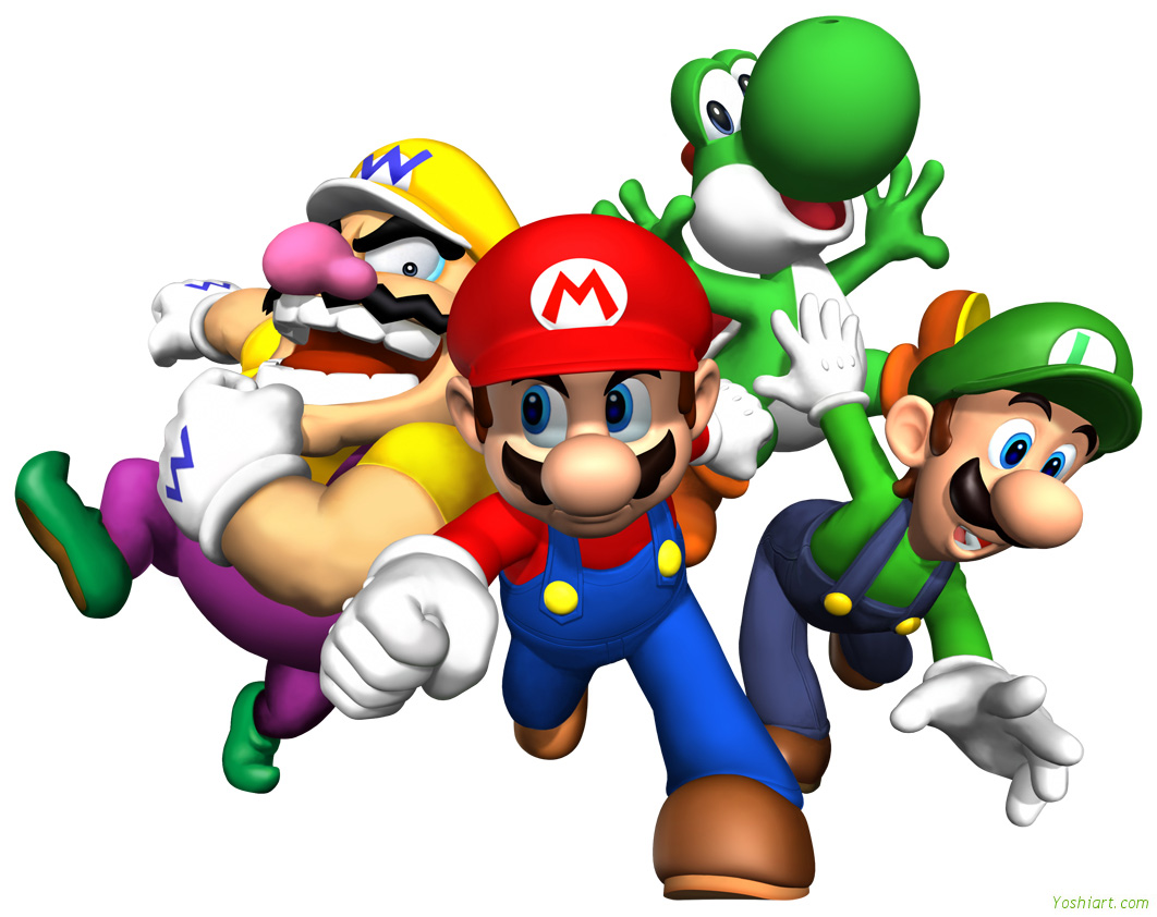 Mario Brothers HD Wallpapers.