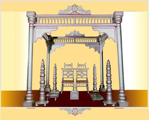 Download Free png Hindu Wedding Mandap PNG Indian.