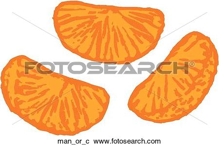Clipart of Mandarin Orange man_or_c.
