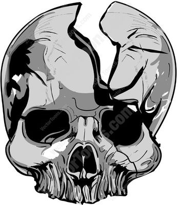 mandible Cartoon Clipart.