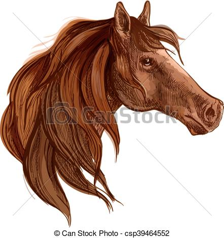 Long mane Vector Clip Art Royalty Free. 498 Long mane.