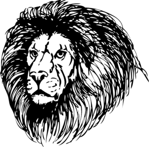 Lion Mane Clipart.