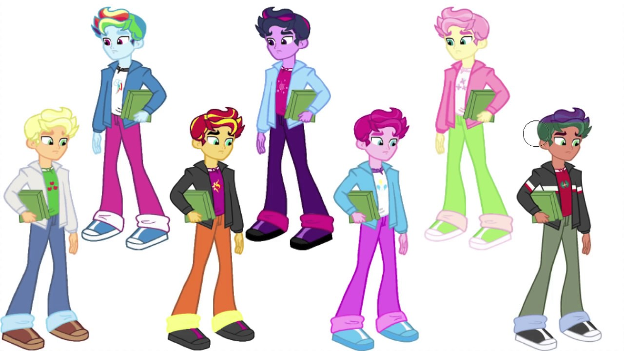 My Little Pony Transforms TIMBER SPRUCE Equestria Girls Color Swap.