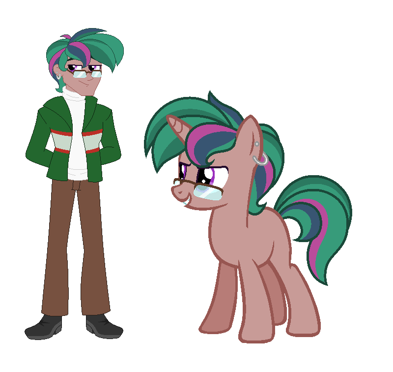 Timber Spruce X Sci Twis Son Bookworm by L8andraw87 on DeviantArt.
