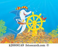 Man eater shark Clipart and Stock Illustrations. 27 man eater.