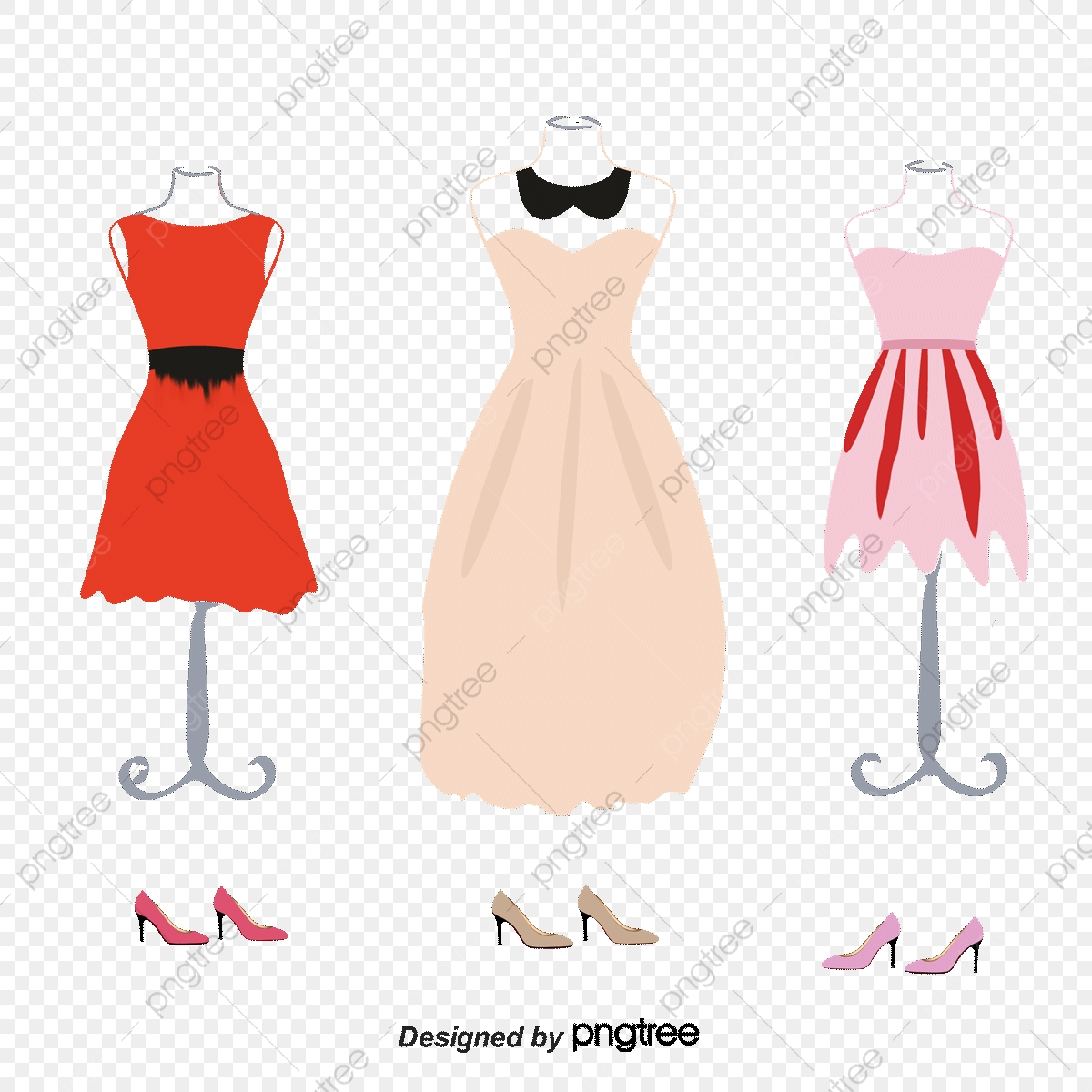 Mulheres Manequim Mostrar, Vestuário, Womens, A Saia PNG e.