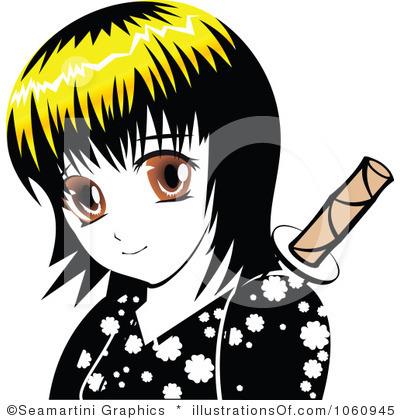 Manga Clip Art.