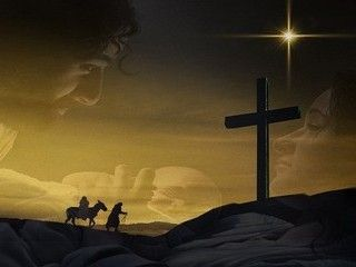 Cradle to Cross christmas backgrounds.